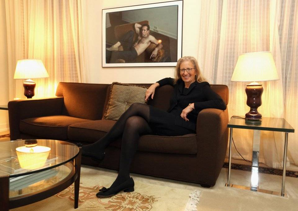 Annie Leibovitz at Chateau Marmont, February 2014
