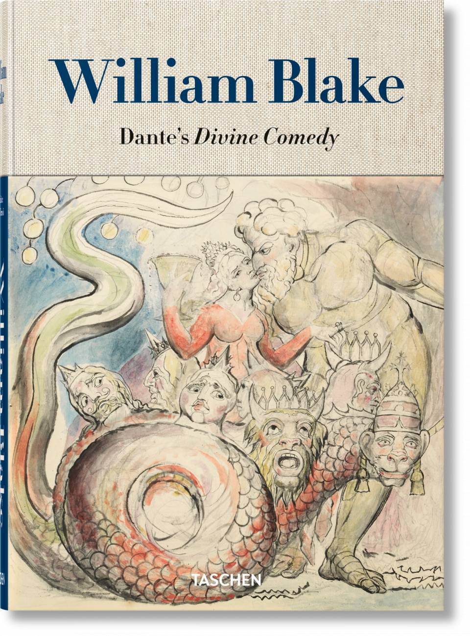 William Blake. Dante's 'Divine Comedy'. The Complete Drawings - image 1