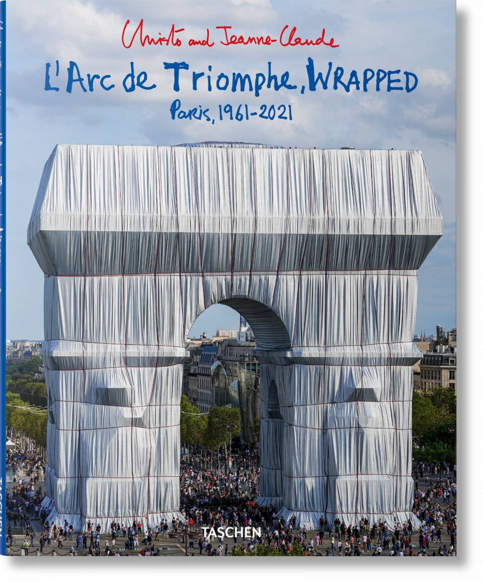 Christo and Jeanne-Claude. L'Arc de Triomphe, Wrapped - image 1