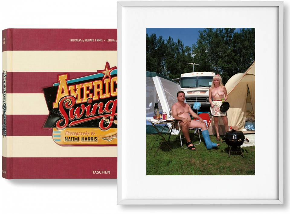 Naomi Harris. America Swings, Art Edition No. 51–100 'Barbecue' - image 1