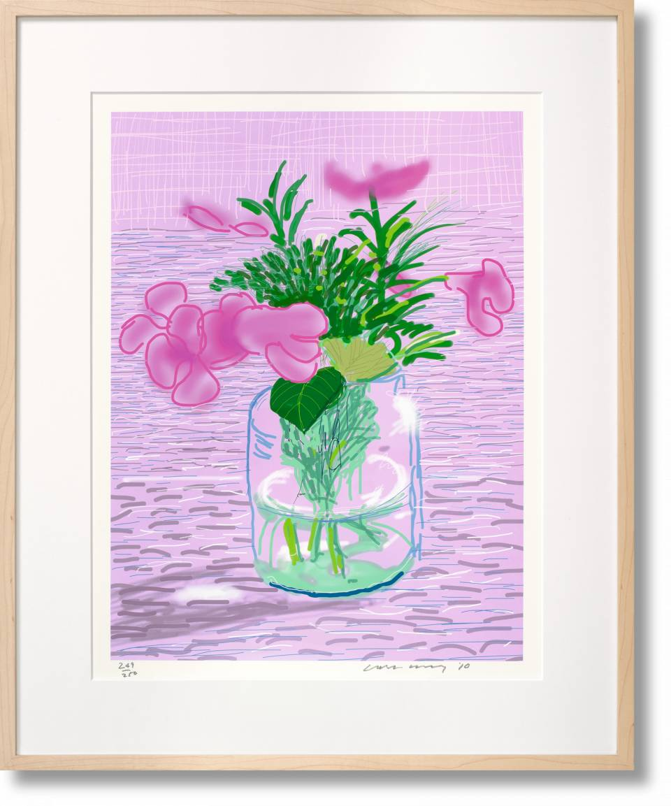 David Hockney. A Bigger Book. Art Edition No. 1–250 'Untitled, 329' - image 1