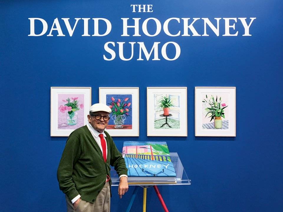 Hockney at the Frankfurt Book Fair
