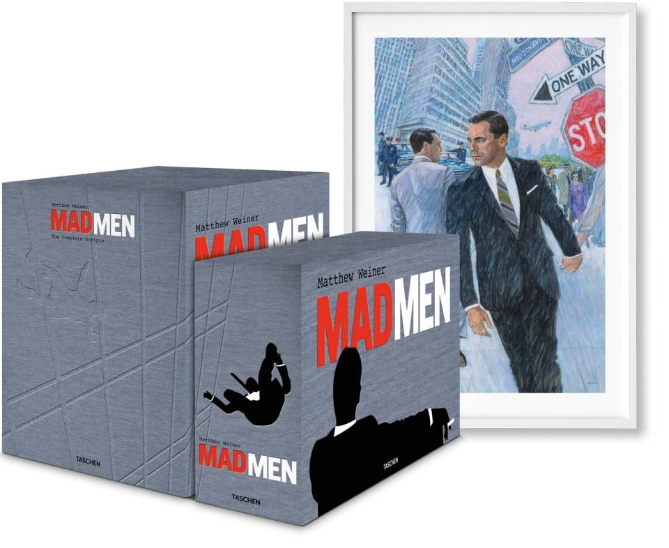Matthew Weiner. Mad Men. Art Edition No. 1–500. Script Edition - image 1