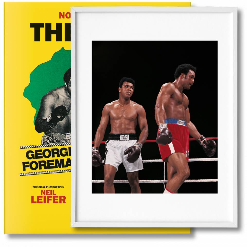Norman Mailer. The Fight. Art Edition No. 1–125, Neil Leifer 'Ali vs. Foreman – Ali Glaring at Foreman' - image 1