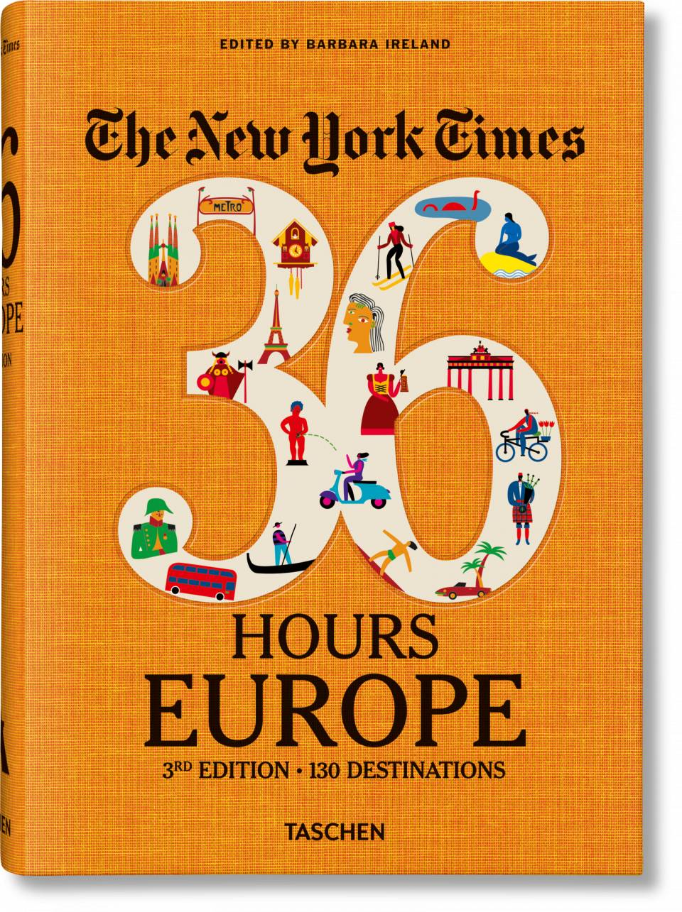 The New York Times 36 Hours. Europe. 3rd Edition - image 1