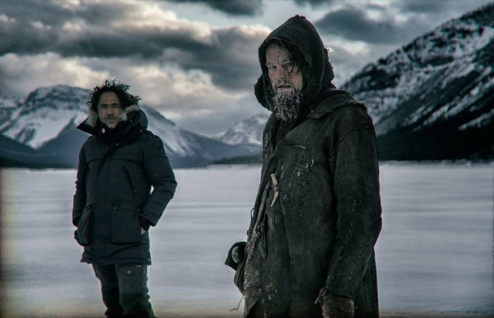 On set with The Revenant - image 1