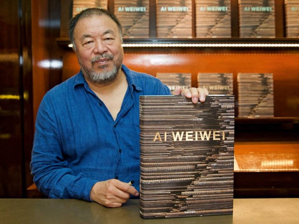 Ai Weiwei in Beverly Hills