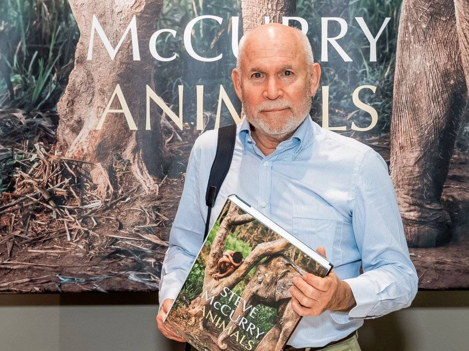 Steve McCurry in Hong Kong