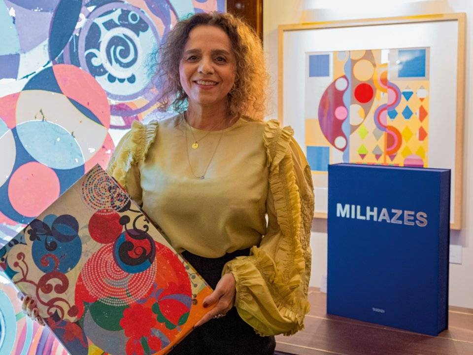 Beatriz Milhazes in Paris
