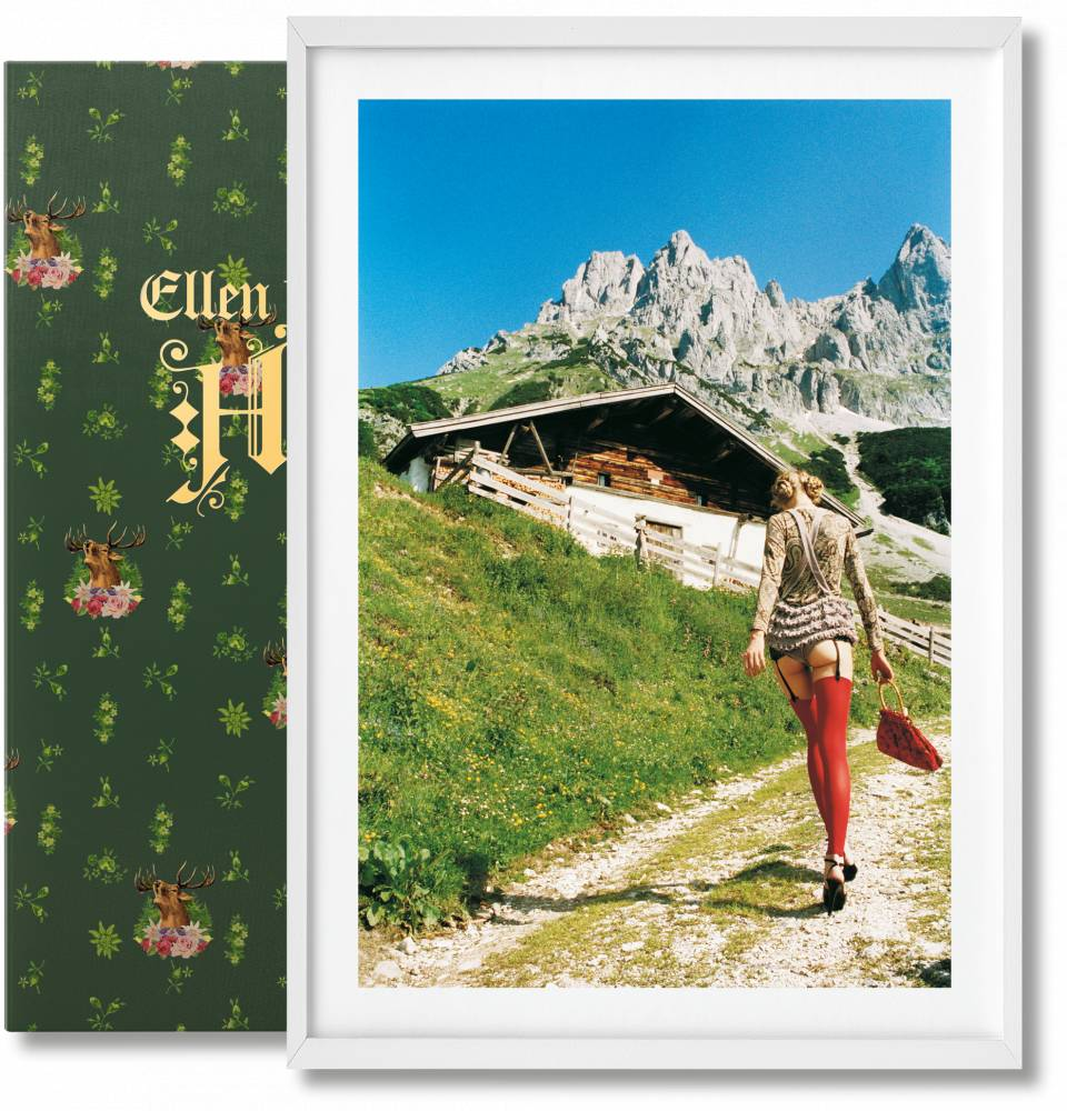 Ellen von Unwerth. Heimat, Art Edition No. 301–400 'Heidi' - image 1