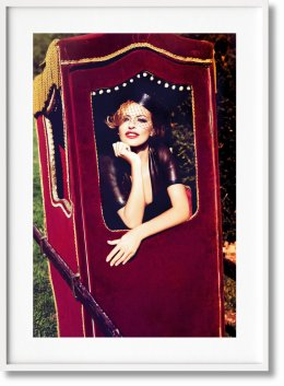 Ellen von Unwerth. The Story of Olga. Art Edition No. 126–250 'Widow' (Limited Edition)