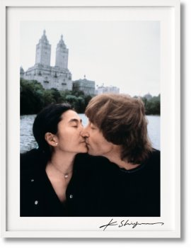 Kishin Shinoyama. John Lennon & Yoko Ono. Double Fantasy. Art Edition No. 126–250 'Untitled' (Limited Edition)
