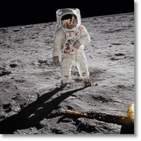 Buzz Aldrin. Apollo 11. 'A Man on the Moon'