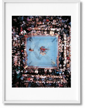 Norman Mailer. The Fight. Art Edition No. 126–250, Neil Leifer 'Ali vs Foreman – Foreman Being Counted Out' (Limited Edition)