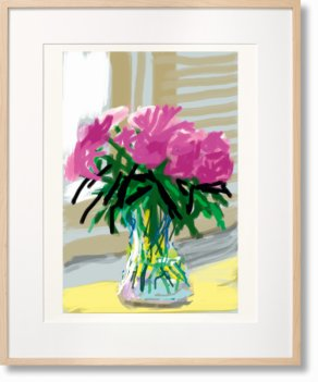 David Hockney. My Window. Art Edition (No. 1–250) 'No. 535'. 28th June 2009 (Limited Edition)