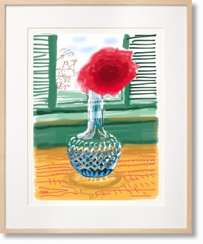 David Hockney. My Window. Art Edition (No. 251–500) 'No. 281'. 23rd July 2010 (Limited Edition)