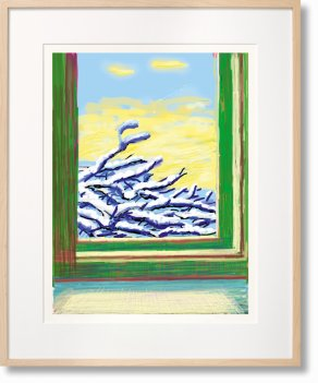 David Hockney. My Window. Art Edition (No. 501–750) 'No. 610'. 23rd December 2010 (Limited Edition)
