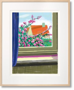 David Hockney. My Window. Art Edition (No. 751–1,000) 'No. 778'. 17th April 2011 (Limited Edition)