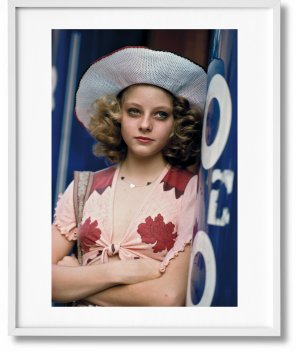 Steve Schapiro. Taxi Driver, Art Edition No. 101–200 'Jodie Foster' (Limited Edition)