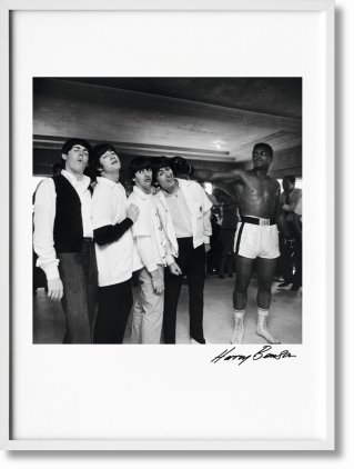 Harry Benson. The Beatles, Art Edition No. 101–200 'The Beatles and Cassius Clay' (Limited Edition)