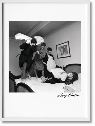 Harry Benson. The Beatles, Art Edition No. 1–100 'George V Hotel Suite' (Limited Edition)