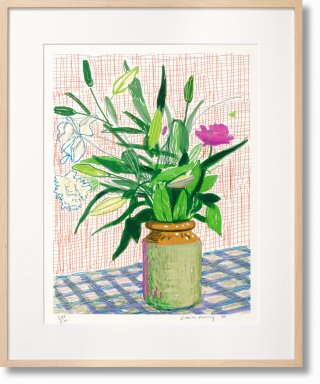 David Hockney. A Bigger Book. Art Edition No. 751–1,000 'Untitled, 516' (Limited Edition)