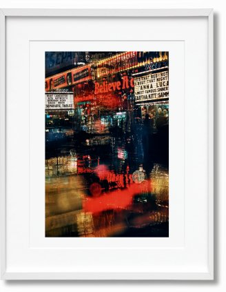 Marvin E. Newman. Art Edition No. 76–150 'Broadway, Believe It, 1958' (Limited Edition)