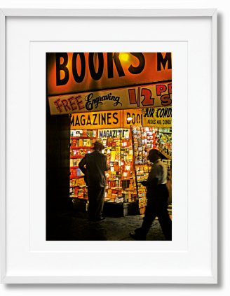 Marvin E. Newman. Art Edition No. 151–225 'Broadway, 1954' (Limited Edition)