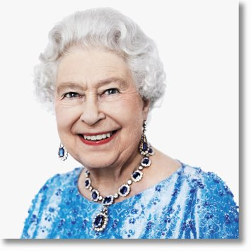 Her Majesty The Queen. David Bailey
