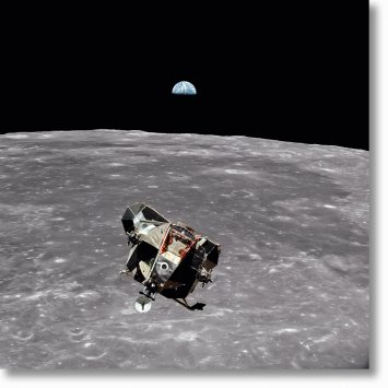 Buzz Aldrin. Apollo 11. 'Lunar Module Ascent'