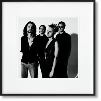 Depeche Mode by Anton Corbijn. Art Edition No. 1–100 'SOFAD, London, 1992' (Limited Edition)