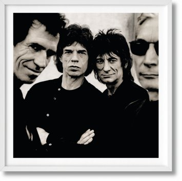 The Rolling Stones. Art Edition No. 376–450, Anton Corbijn 'Rolling Stone' (Limited Edition)