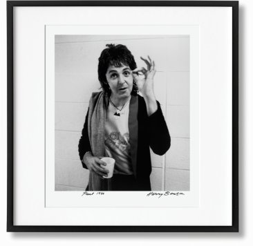 Harry Benson. Paul. Art Edition No. 51–100 'Wings Backstage, 1976' (Limited Edition)