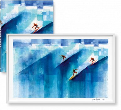 Surfing. 1778–2015, Limited Edition 1-125, 'Wild Angels' (Limited Edition)