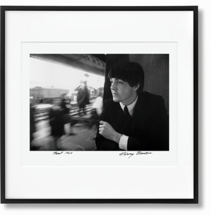Harry Benson. Paul. Art Edition No. 1–50 'A Hard Day's Night, 1964' (Limited Edition)