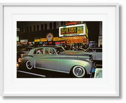 Marvin E. Newman. Art Edition No. 226–300 '42nd Street, 1983' (Limited Edition)