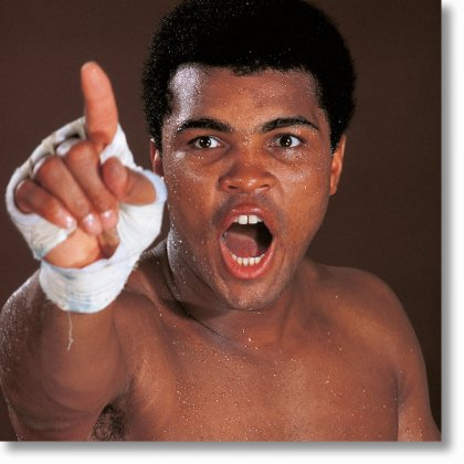 Neil Leifer. Homage to Ali. 'The Mouth That Roared, 1970'