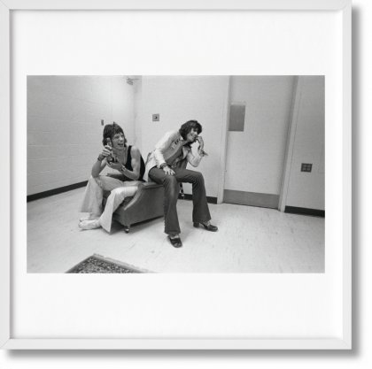 The Rolling Stones. Art Edition No. 301–375, Ethan Russell 'Mick and Keith' (Limited Edition)