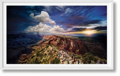 Stephen Wilkes. Day to Night. Art Edition No. 101–200 'Grand Canyon, Arizona, 2015' (Limited Edition)