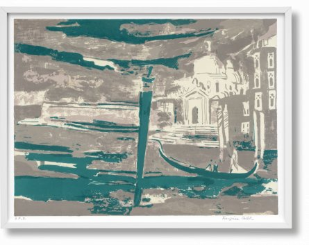 Françoise Gilot. Art Edition No. 1–60 'La Salute, Venice' (Limited Edition)