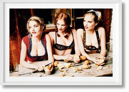 Ellen von Unwerth. Heimat. Art Edition No. 101–200 'The Cooks' (Limited Edition)