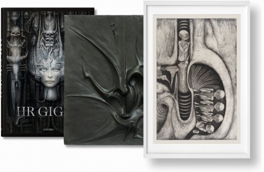 HR Giger. Art Edition No. 1–100 'Relief + Photogravure' (Limited Edition)
