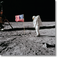 Buzz Aldrin. Apollo 11. 'Flag on the Moon' (Limited Edition)
