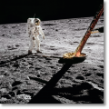 Buzz Aldrin. Apollo 11. 'Inspecting the Eagle' (Limited Edition)