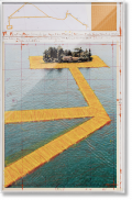 Christo and Jeanne-Claude. The Floating Piers, Art Edition No. 21–40 (Collage) (Limited Edition)