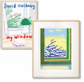 David Hockney. My Window. Art Edition (No. 501–750) 'No. 610', 23rd December 2010 (Limited Edition)