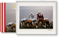 Neil Leifer. Guts & Glory, Art Edition No. 1–100 'Johnny Unitas' (Limited Edition)