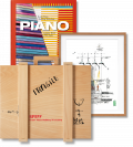 Piano. Complete Works 1966–Today, Art Edition 'Menil Collection Foundation, Houston' (Limited Edition)