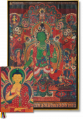 Thomas Laird. Murals of Tibet, Art Edition No. 41–80 'Green Tara, Gyantse Kumbum (ca. 1420)' (Limited Edition)