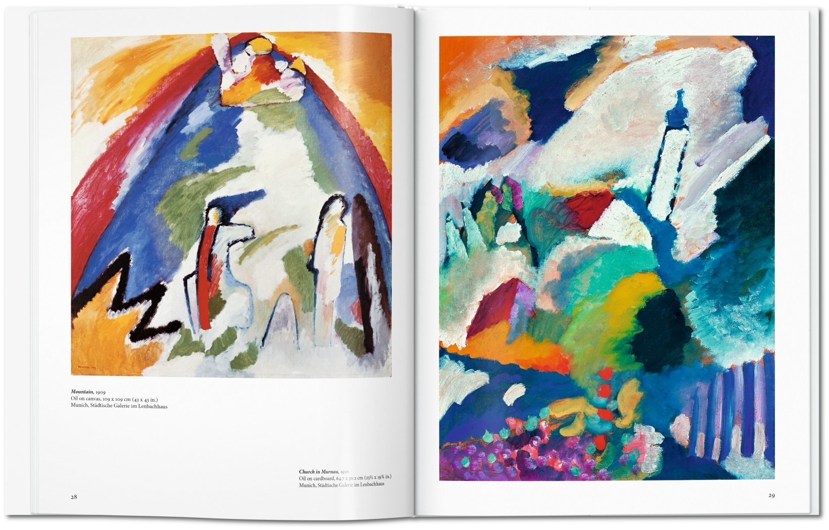Wassily Kandinsky and his paintings